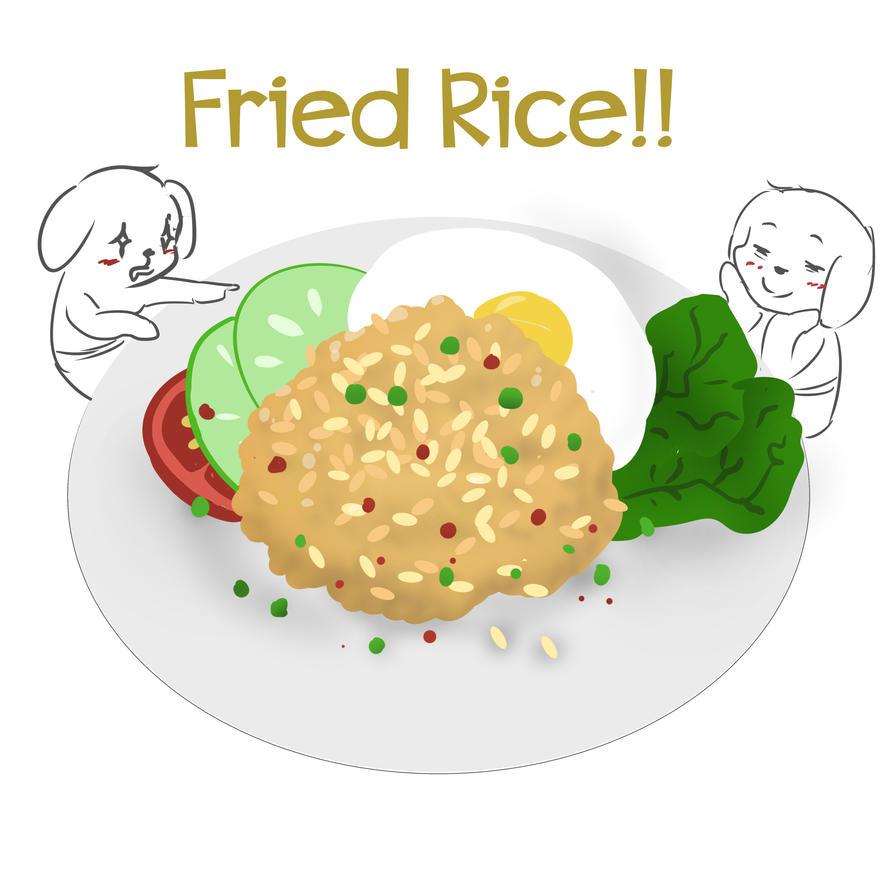 Fried Rice by selamatnesi
