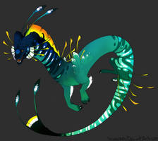 TROPICAL DRAGON AUCTION (closed) by Screeches