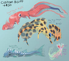 Bluff Dragon ADOPTABLES (closed) by Screeches