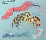 Bluff Dragon ADOPTABLES (closed)
