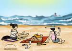 On the Beach by alexrovv