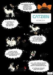 Comic: Catzen by alexrovv