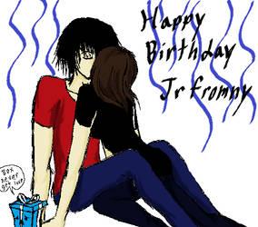 happy birthday jrfromny by xxKorosu-chanxx