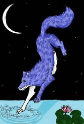 water wolf by xxKorosu-chanxx