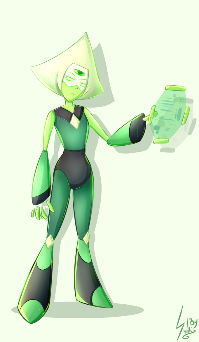 Now i watched this show! I wanted to draw Peridot. <3