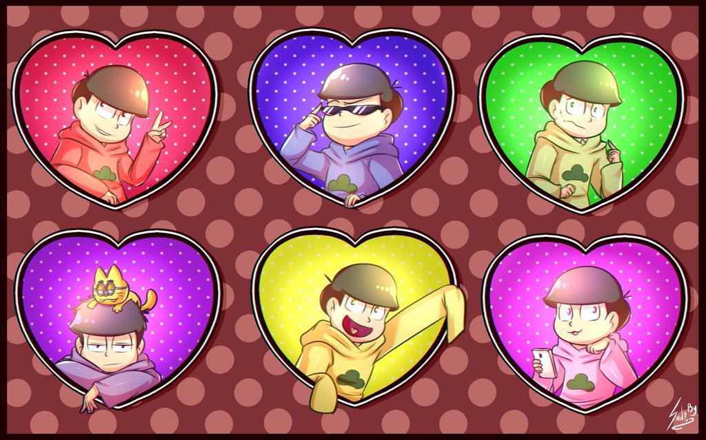 osomatsu san valentines day by - San Valentines Day