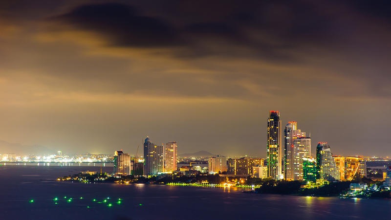 Pattaya City View, Chonburi, Thailand by Rawangtak