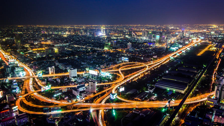 Ring of Fire @Baiyoke Sky Tower, Bangkok, Thailand by Rawangtak