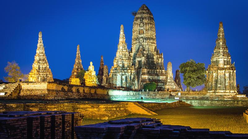 Wat Chai Wattanaram - Ayutthaya - Thailand by Rawangtak