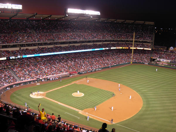 Angels Stadium by 00RandomPanda00