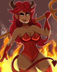 Fler Devil costume 2020