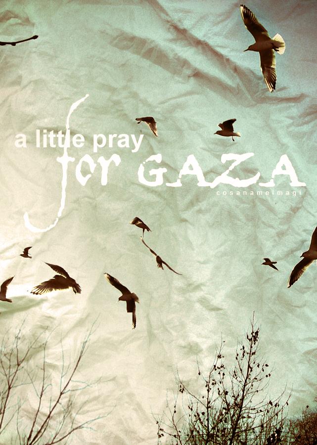 GAZA by cosanameimagi