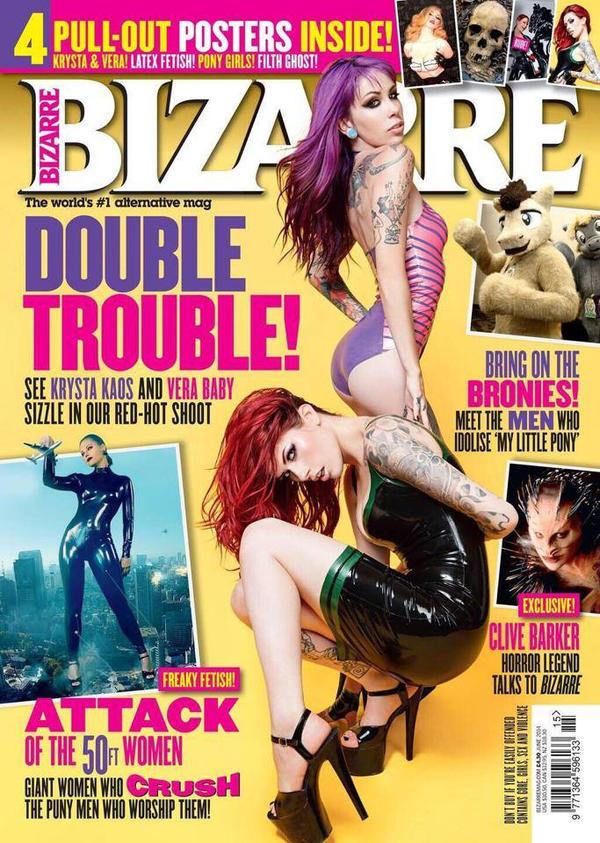 Bizarre Magazine by vera-baby