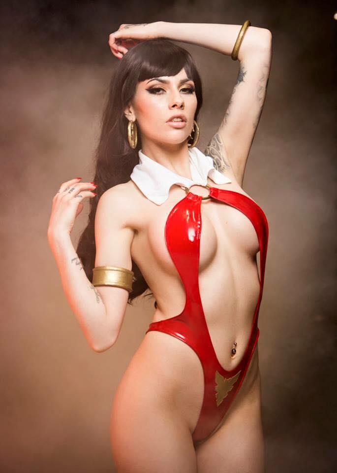 [Sexy Cosplay] Vera-Baby as Vampirella