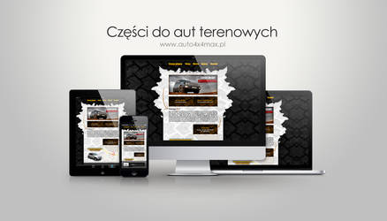 Auto4x4Max website by red-maupa