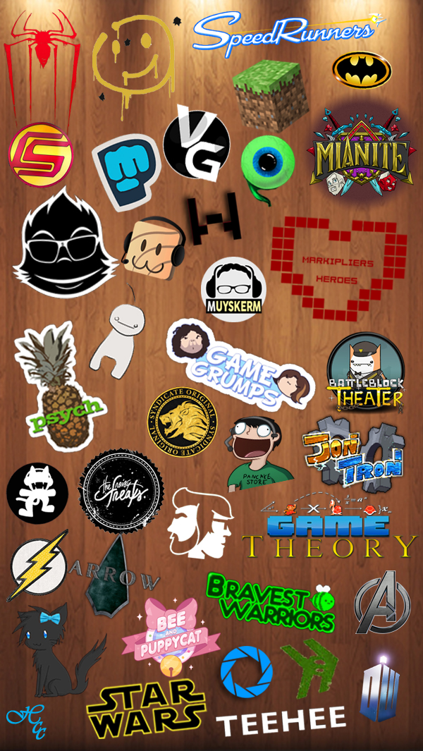 IPhone 6 Fandom Wallpaper By BlackCatRemmy