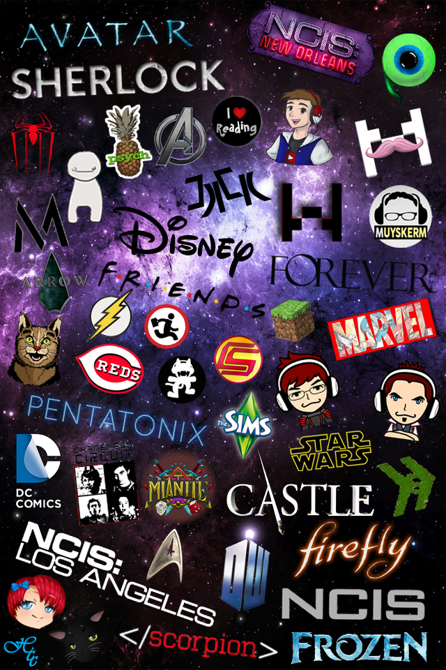 CrazySkySkys IPod Fandom Wallpaper By BlackCatRemmy