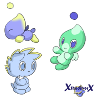 Chao icon examples by xShadilverx