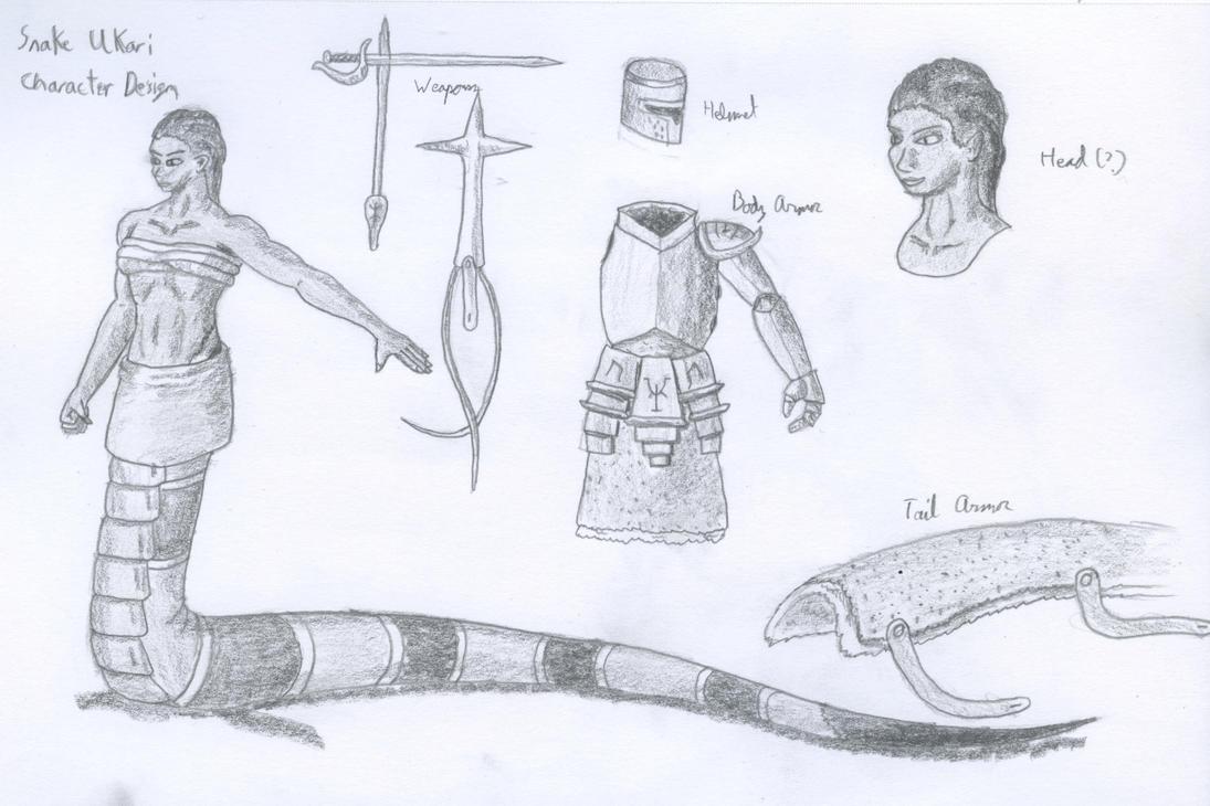 Snake Ukari Design Page by TheHiddenElephant