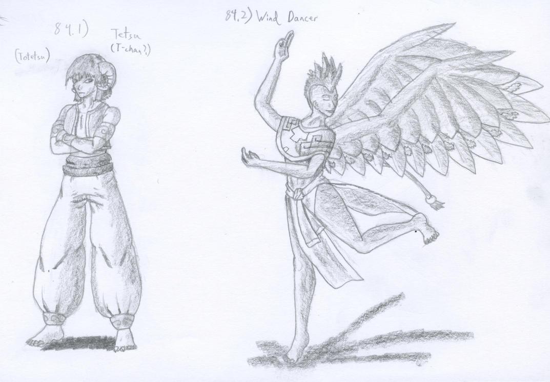 Figure 84 - Tatsu and Skirutl by TheHiddenElephant