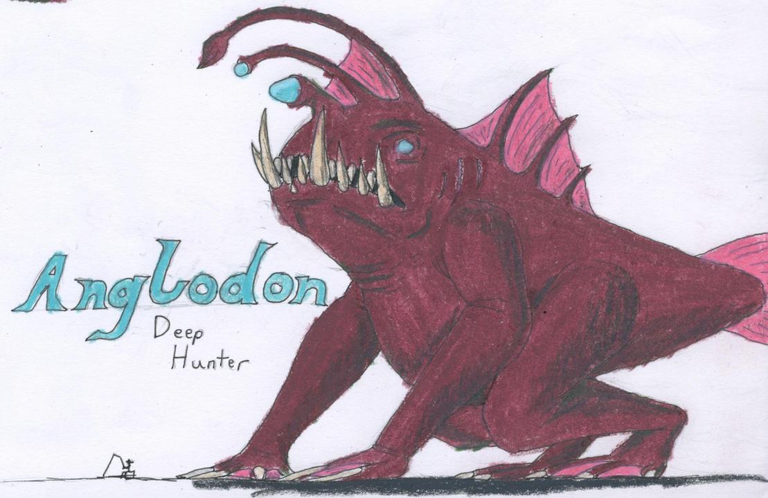 Anglodon, Deep Hunter by TheHiddenElephant