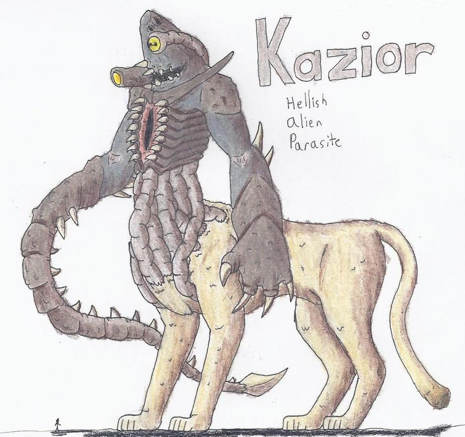 Kazior, Hellish Alien Parasite by TheHiddenElephant
