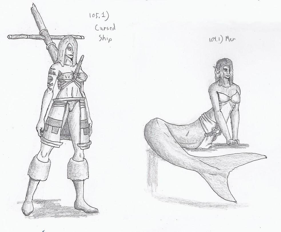Figures 105/104 by TheHiddenElephant