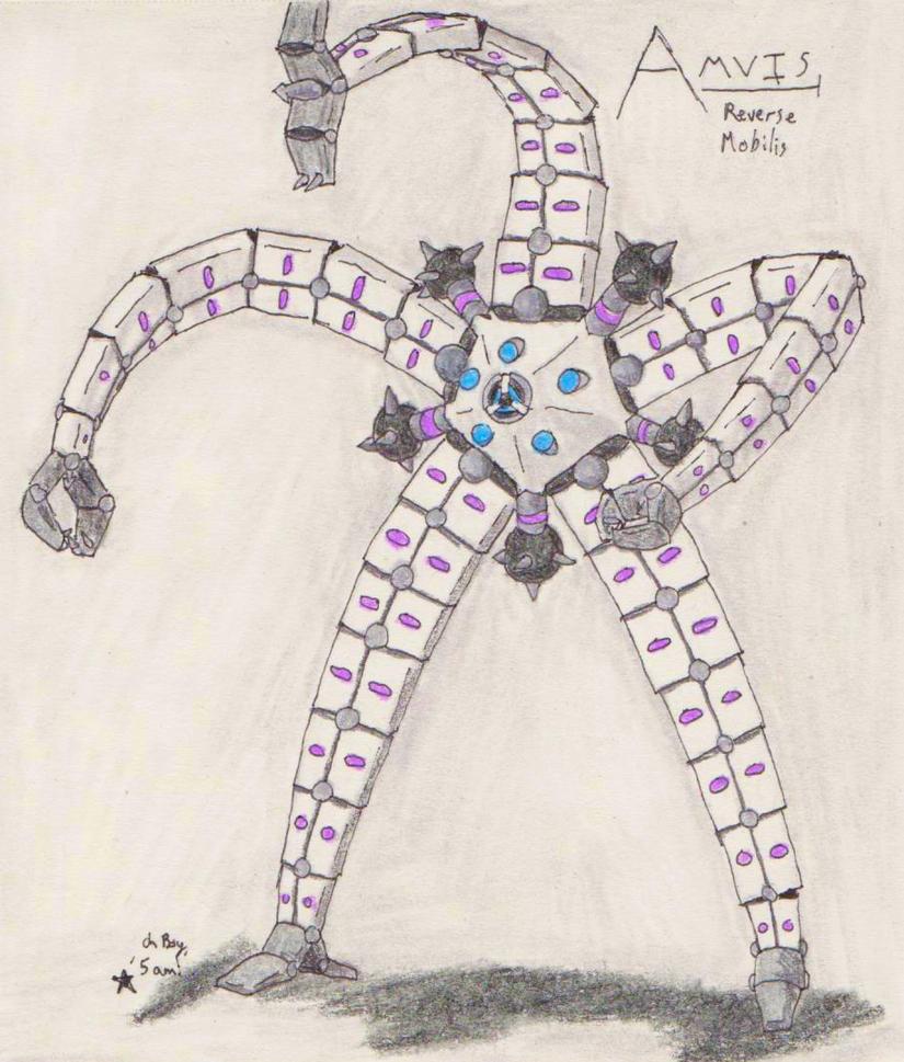 Amvis, Reverse Mobilis by TheHiddenElephant