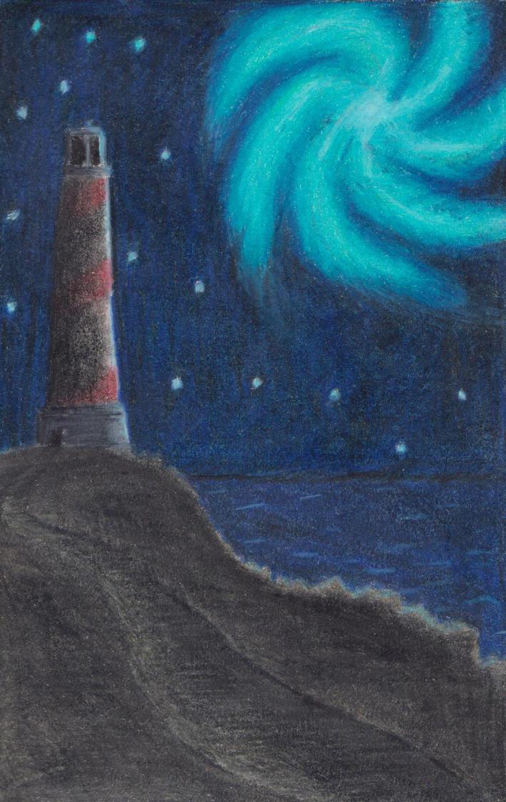 Abandoned Lighthouse by TheHiddenElephant