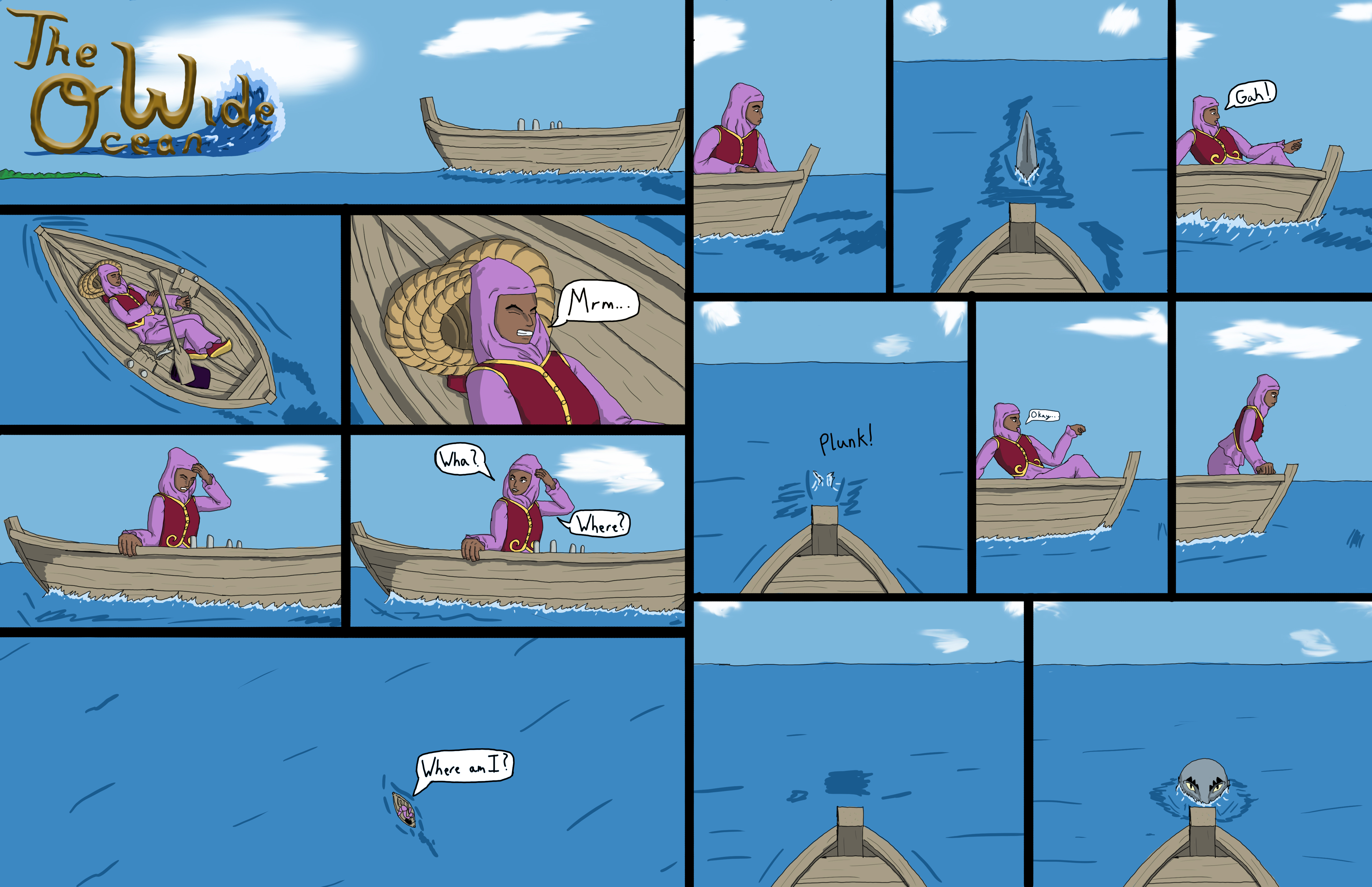 The Wide Ocean Page 1