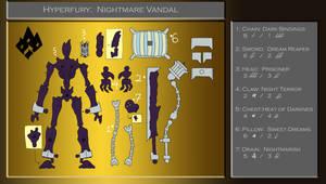 Xevoz Concept - Hyperfuries - Nightmare Vandal