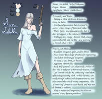 Pirate OC - Sea Lilith - Character Reference