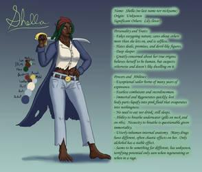 Pirate OC - Shella - Character Reference