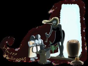 Comicfury Haloween Crossover 2019 - Fantomah