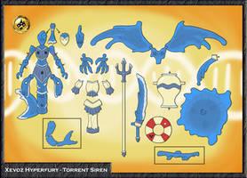 Xevoz Concept Sheet - Torrent Siren