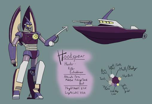Transformers OC - Hookspear Reference