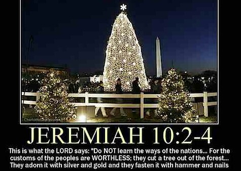 Christmas Tree Witchcraft ( Asherah tree) by Xainopnwe47