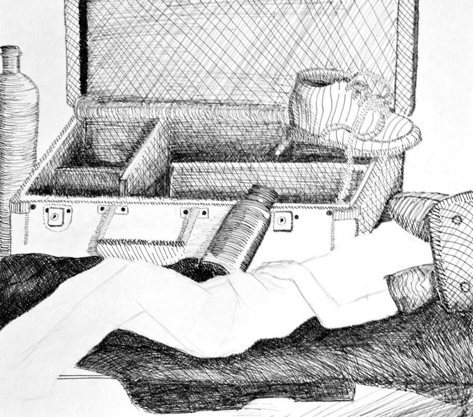 Pen and Ink Still by kazekagefan