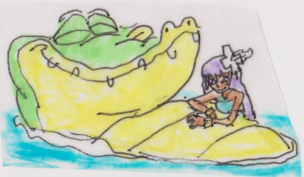 Good big crocodile!