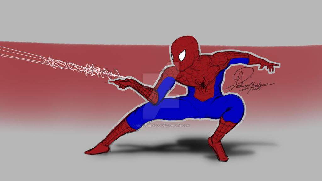 Spider Final by Pedro-Hidalgo