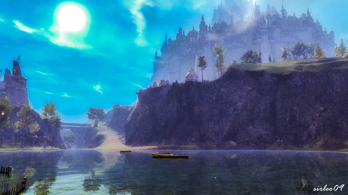 [GUILD WARS 2] Queensdale - Lake Delavan by SirLeo09