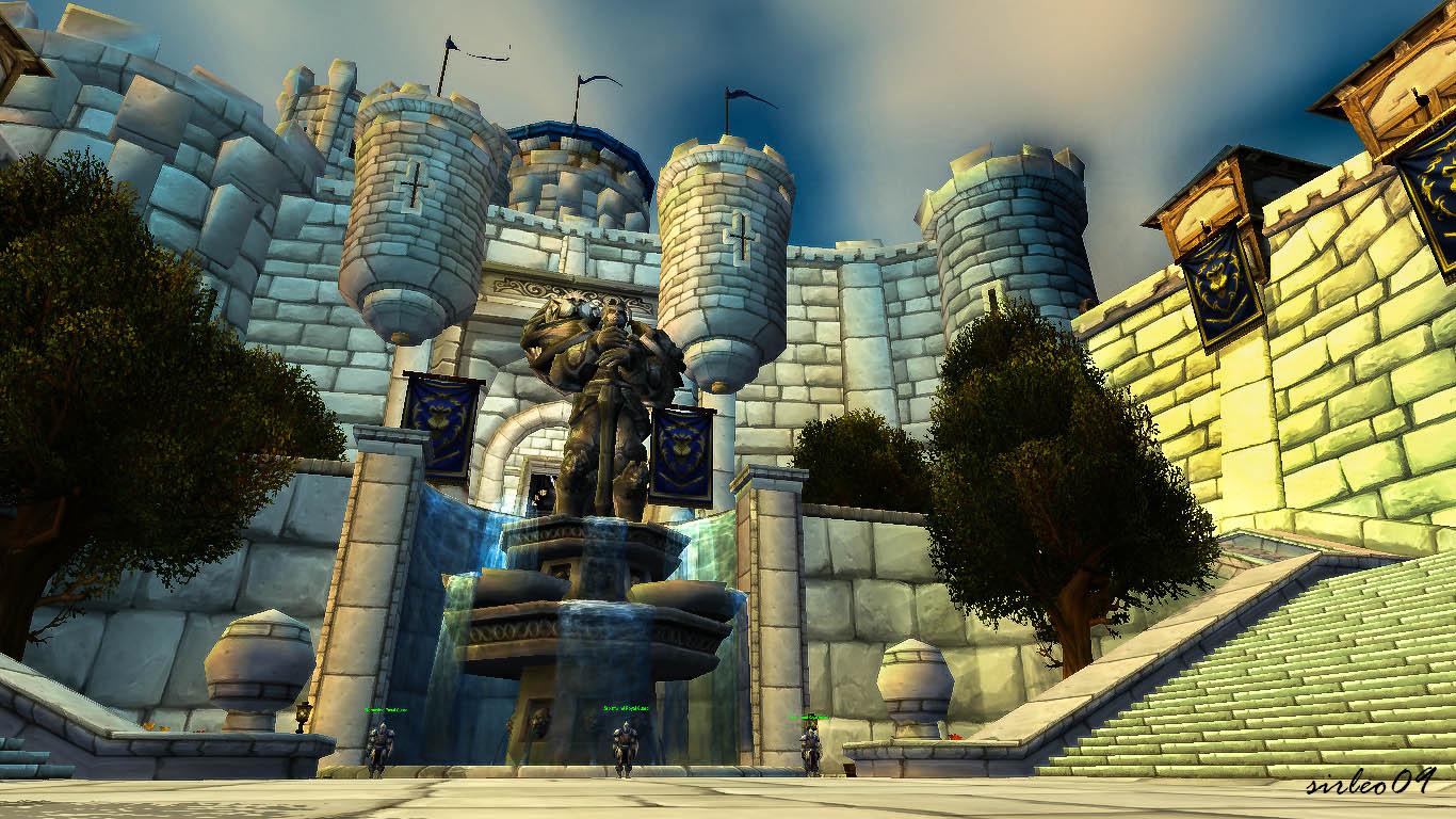 [World of Warcraft ] Stormwind - Stormwind Keep by SirLeo09