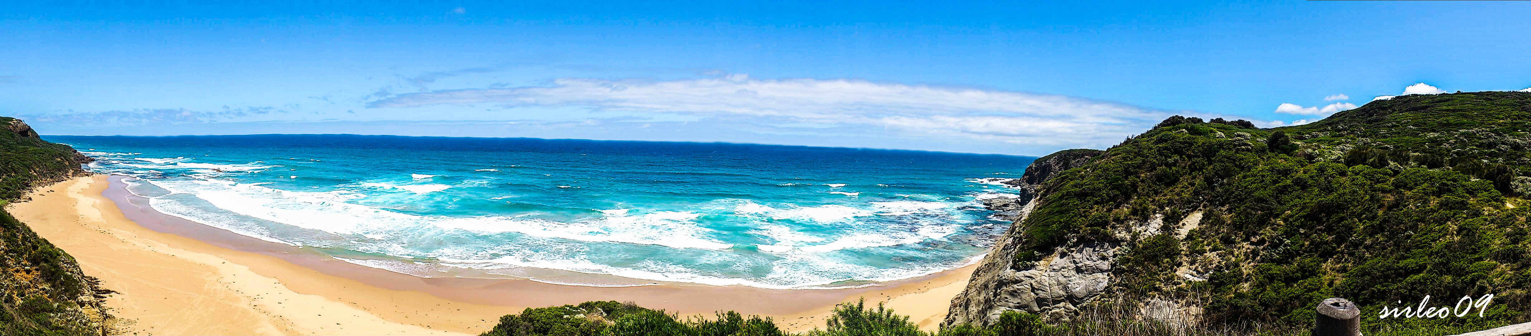 Melbourne - Beach Panorama by SirLeo09
