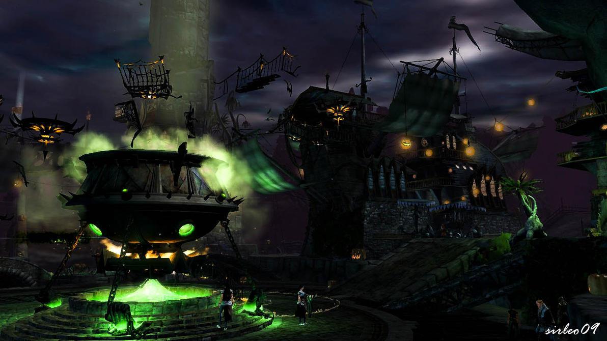 GUILD WARS 2] Lion's Arch - Halloween 2012 by SirLeo09 on DeviantArt