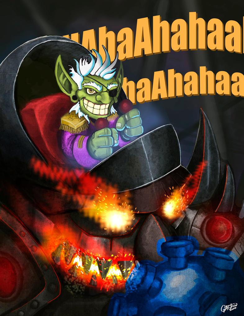 Siegecrafter Blackfuse - Fan Art by GastonBR