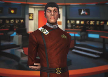 Mr. Spock - Wrath of Khan by GastonBR