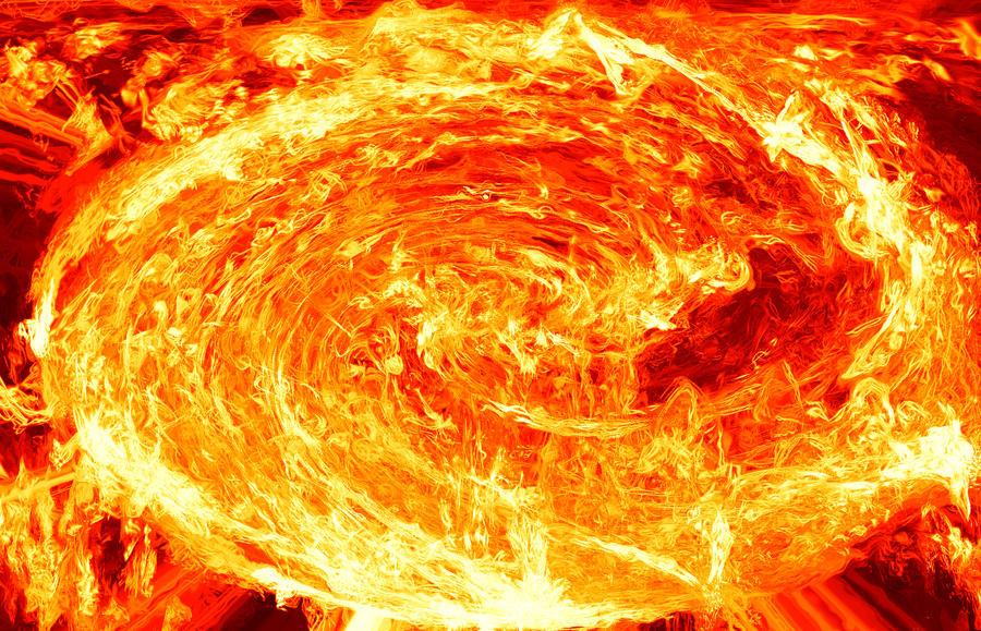 how to make a fire vortex