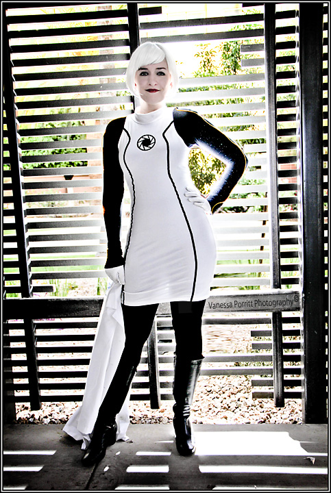 humanized GLaDOS (Portal) by AZ-Butterflies
