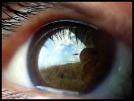 Eye mirror