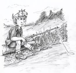 Casper Fishing by SchoolSpirit